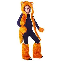Flynn the Fox Tween Costume Kit - paradise organization brochure Holloween Costumes For Kids, Tween Costumes, Halloween Costume Accessories, Ballet Costumes, Creative Halloween Costumes, Diy Costumes, Halloween 2017, Halloween Stuff, Halloween Ideas