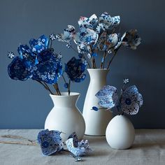 Paper Flowers   west elm