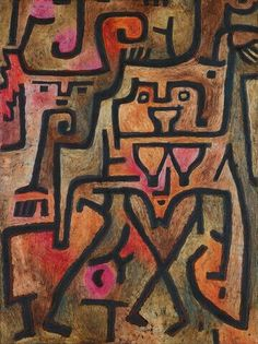 'Forest Witches' - Paul Klee.