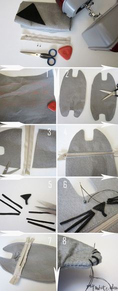 CAT PENCIL CASE DIY (Republished) | MY WHITE IDEA DIY