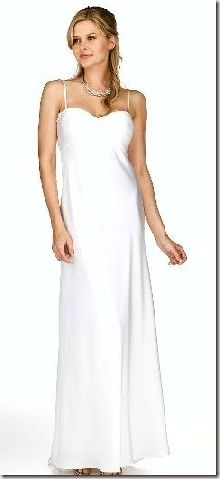Beach wedding dress...for when we renew our vows on the beach!