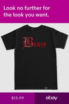 Brazy Old English Bandana Still Brazy YG 400 Compton Bompton 4 Hunnid T Shirt 4 Hunnid, Shirt Outfit, T Shirt, Old English, Clothing, Mens Tops, Ebay, Accessories, Shoes