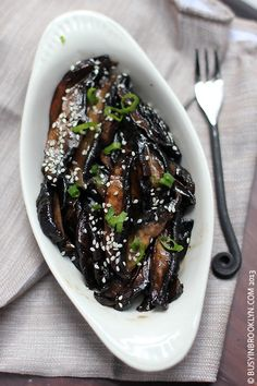 teriyaki portobello mushrooms - a quick and easy side dish that's great for entertaining!