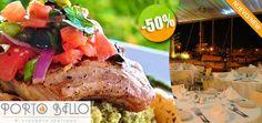 Porto Bello - $205 en lugar de $410 por 1 Insalata Bistro + 1 Exquisito Pesce alla Griglia Click http://cupocity.com