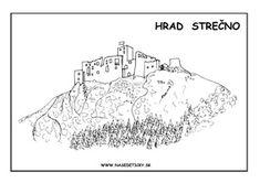 Hrady a zámky Slovenska - Nasedeticky.sk Activities For Kids, Paper Crafts, Map, Education, World, Teacher, Model, Blog, Geography