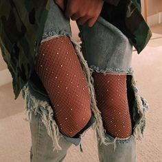 Buy it Now - Sexy Rhinestone Mesh Fishnet Pantyhose Spring Summer Black women tights Slim Fishnet Tights Stockings Party Club Hosiery 2017 Fishnet Tights, Fishnet Top, Black Pantyhose, Inspiration Mode, Mode Outfits, Grunge Outfits, Women's Socks & Hosiery, Fashion Killa, Fashion Clothes