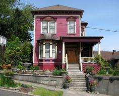 Oregon Victorian Photos | Italianate Victorian House on Harrison Street