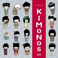 """Kokeshi """"Kimonos"""" #GiveBooks @ChronicleBooks"""