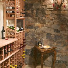 Small Wine Cellar Design Ideas, Pictures, Remodel, and Decor