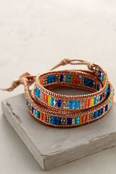 Castillo Wrap Bracelet $58 USD online only |  anthropologie.com