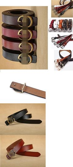 f24d7f26370 Fashion Women s Genuine Leather Belts Wide Jeans Belt with Letter Buckle