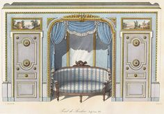 Plate number: L. 49 Pl. 137 Type: Floor Plans  : Interior Elevations  Style: Louis XVI  Enlarge Image