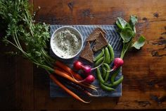 Caramelized Leek and Chive Dip </br>with Spreadable French </br>Goat Cheese