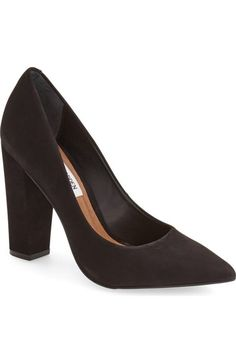 'Primpy' Pointy Toe Block Heel Pump (Women)