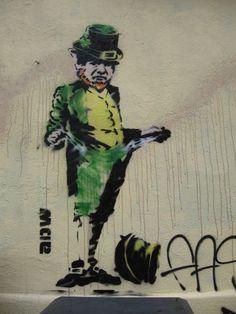 Irish street art