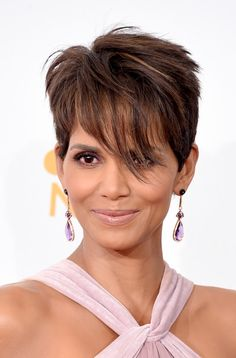 Halle Berry Photos: 66th Annual Primetime Emmy Awards Press Room