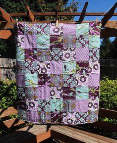 Cute quilt for a little girls room