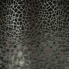 Crackel glass