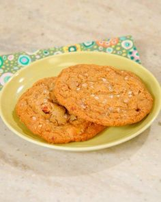 Salty Butterscotch-Toffee Cookies Recipe