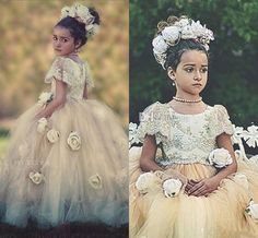 2016 Vintage Rustic First Formal Occasion Flower Girls Pageant Dresses For Sale Cheap Wedding First Dressing Ball Gowns with Long Tutu Skirt