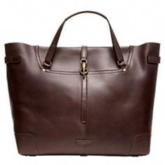BLEECKER LEATHER SADDLE TOTE