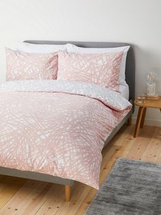 House by John Lewis Scribble Duvet Cover Set at John Lewis & Partners