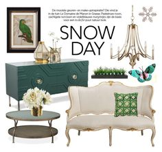 """Winter"" by cstarzforhome ❤ liked on Polyvore featuring interior, interiors, interior design, home, home decor, interior decorating, Feiss, Jaipur, Vintage and cabinstyle"