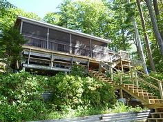 oceanfront downeast acadia schoodic log home with 650 feet of