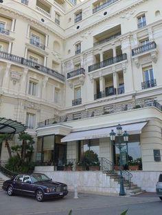 Hotel De Paris in Monaco-- dreamy