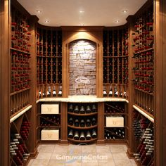 images wine cellars and rooms | Wine Racking By Genuwine Cellarsgenuwine Cellars Custom Wine Cellars ...