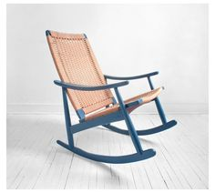 Mid Century Wood Rocking Chair - Modern, Wood, Rocker. $385.00, via Etsy.