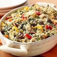 Creamy Chicken-Vegetable Casserole http://allrecipes.com/recipe/creamy-chicken-vegetable-casserole/