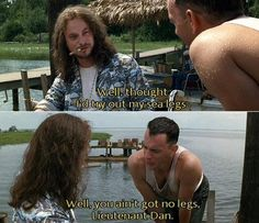 Forrest  Gump. My favorite movie :)