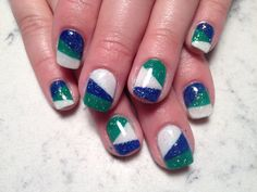 Canuck nails