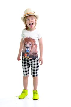 Rock Your Baby Welcome to the Jungle tee and Chuck shorts