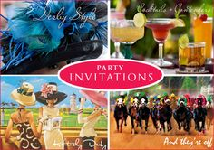 My goal is to one day throw, or be the main event at a Kentucky Derby themed bachelorette party!!  Big hats, minty cocktails, and a gaggle of women - only to be thrown on Derby Day of course!! :)