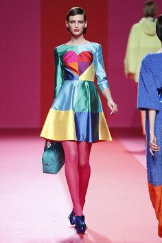 Agatha Ruiz de la Prada - Pasarela Pret A Porter Otoño invierno 15/16 (Madrid Fashion Week)