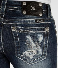 'Miss Me Boot Stretch Jean' #buckle #fashion www.buckle.com