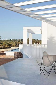 Casa payesa en Formentera, piscina