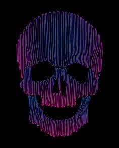 Skulledelic  by Sknny