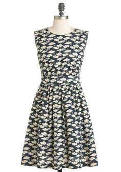 $79.99 Too Much Fun Dress in Airplanes, #ModCloth