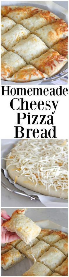Homemade Cheesy Pizza Bread - Picky Palate