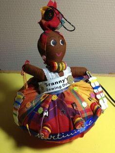 cloth doll from Martinique