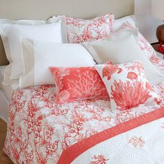 Image of the product Coral Print Duvet Cover