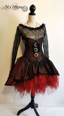 Les créations My Oppa - site My Oppa Steampunk, Creations, Goth, Photos, Victorian, Fashion Outfits, Dresses, Style, Fashion Ideas