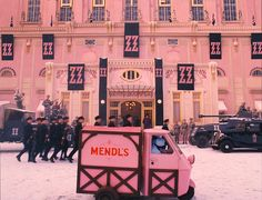 The Grand Budapest Hotel / Wes Anderson 2014 - certainly one of the most artistic films of recent years