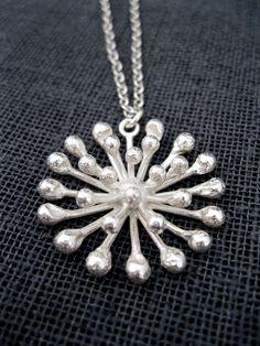 Dandelion Necklace   Felt