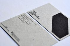 Love the texture and color of this card. // #brand identity for The Contemporary Art Museum of Girona