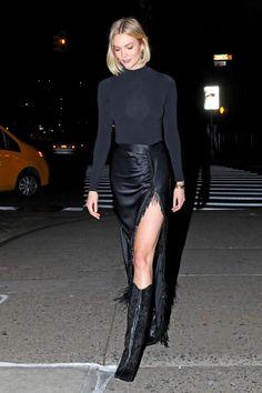 Karlie Kloss Night Out Style 2019 - Karlie Kloss - Karlie Kloss 24 November 2019 Black Stylish Outfits, Karlie Kloss Style, Celebrity Style Inspiration, Celeb Style, Office Looks, Celebs, Celebrities, Night Out, Street Wear