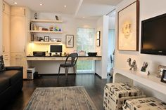 Home Study Work Bench Design Ideas, Pictures, Remodel, and Decor - page 6